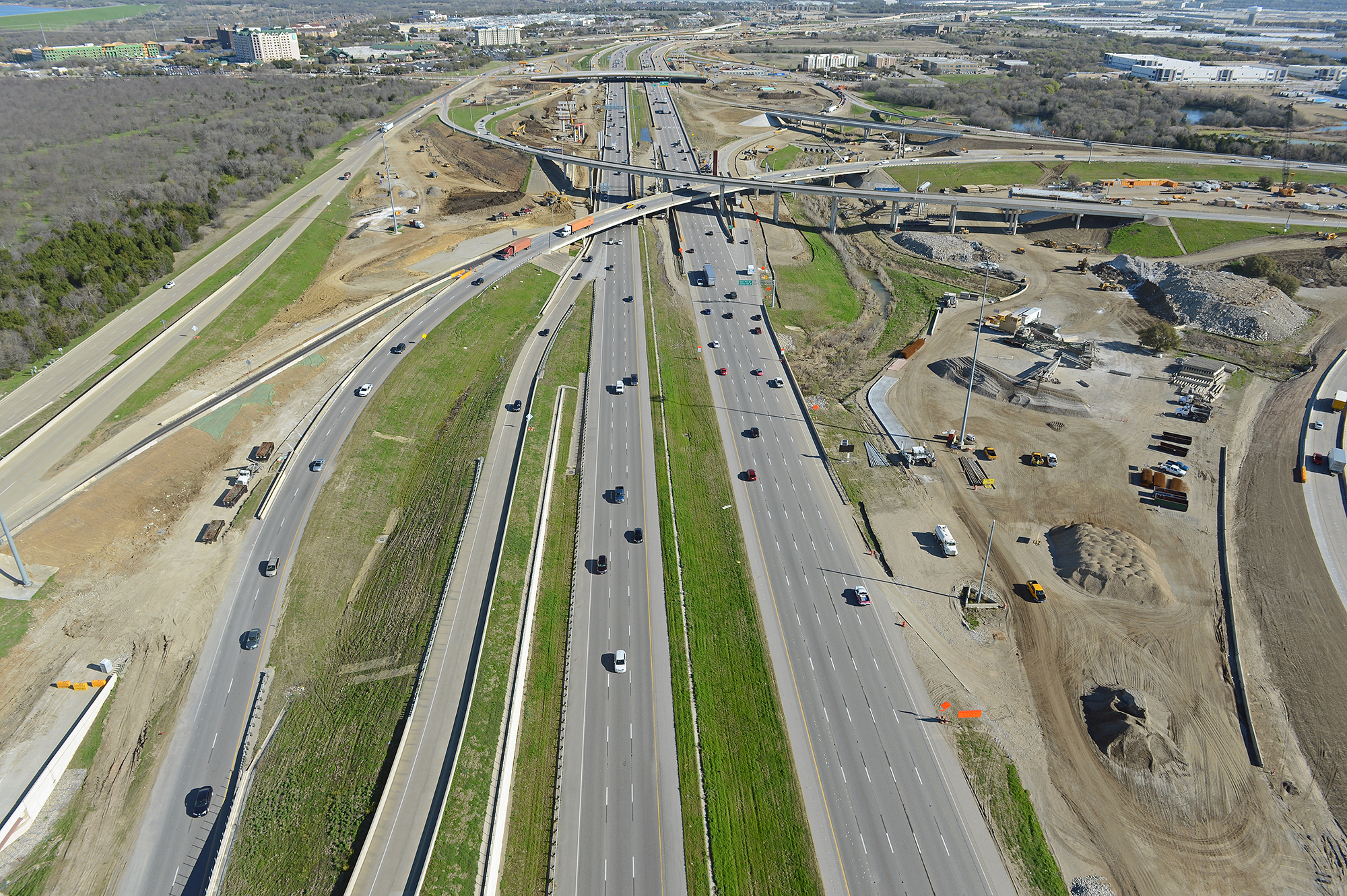 DFW Connector Owner Verification Testing Project Overhead Image