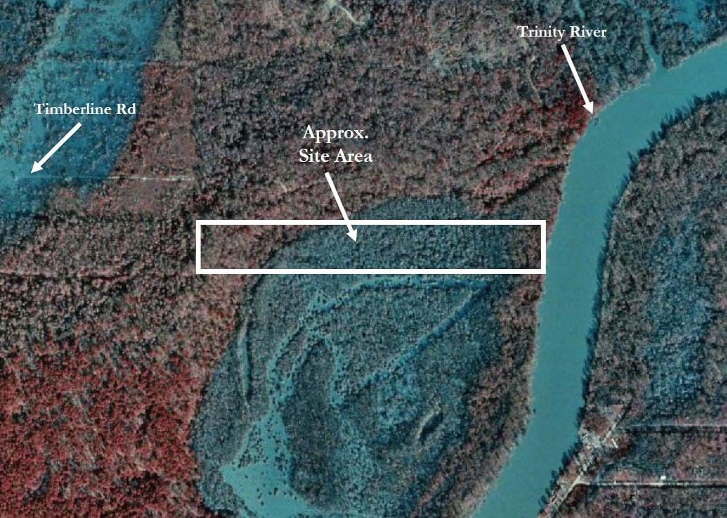Luce Bayou Aerial Image