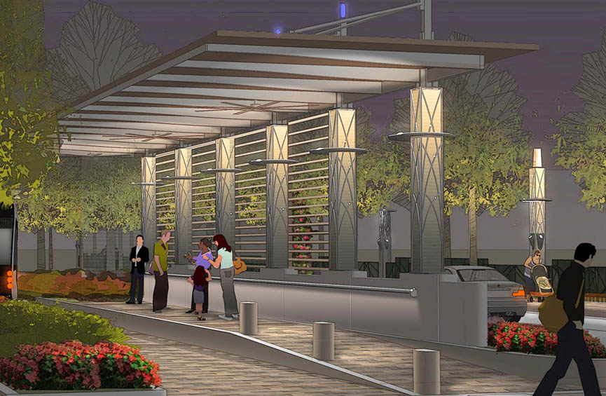 Post Oak Boulevard Platform Geotechnical Engineering Project Image