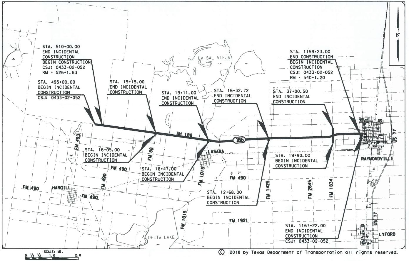 SH 186, TxDOT Plan