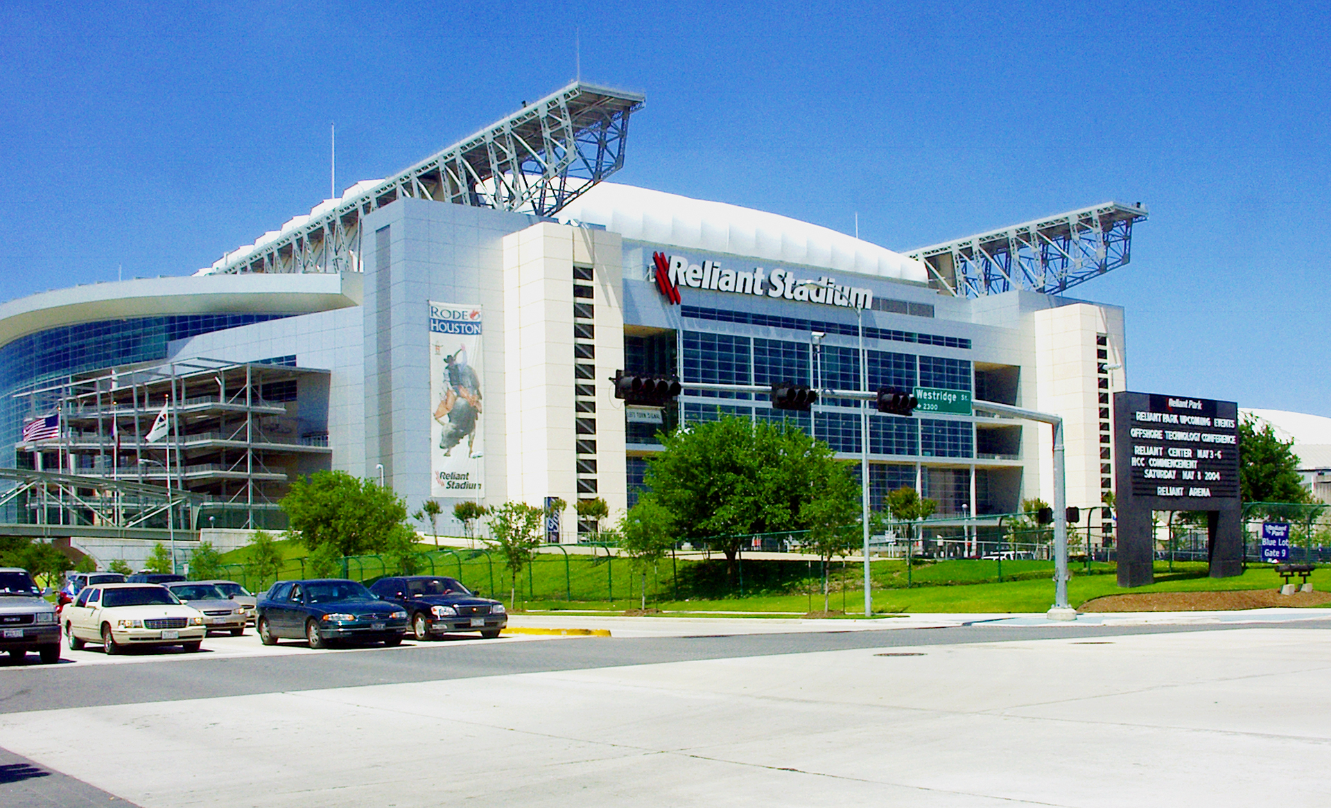 Reliant Stadium Building Project
