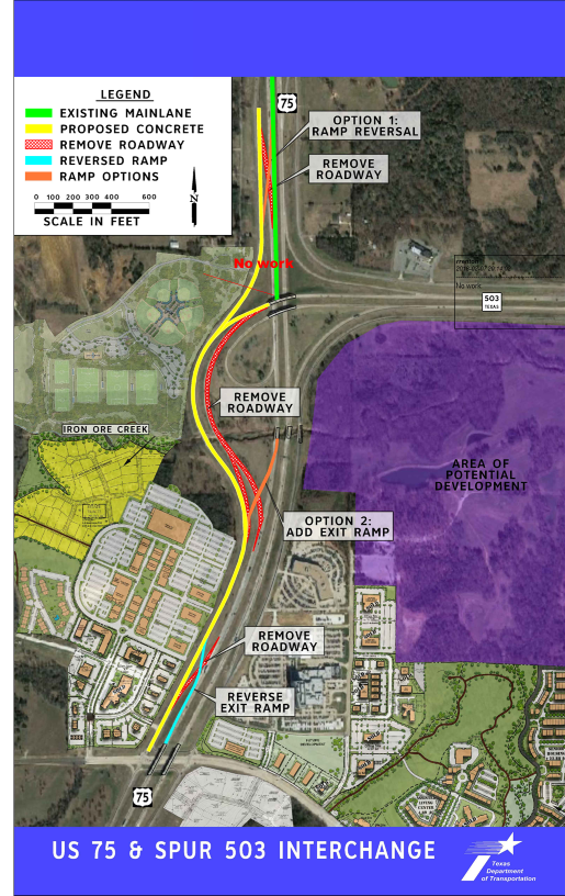 US 75 Highway Civil and Pavement Engineering Project Overview